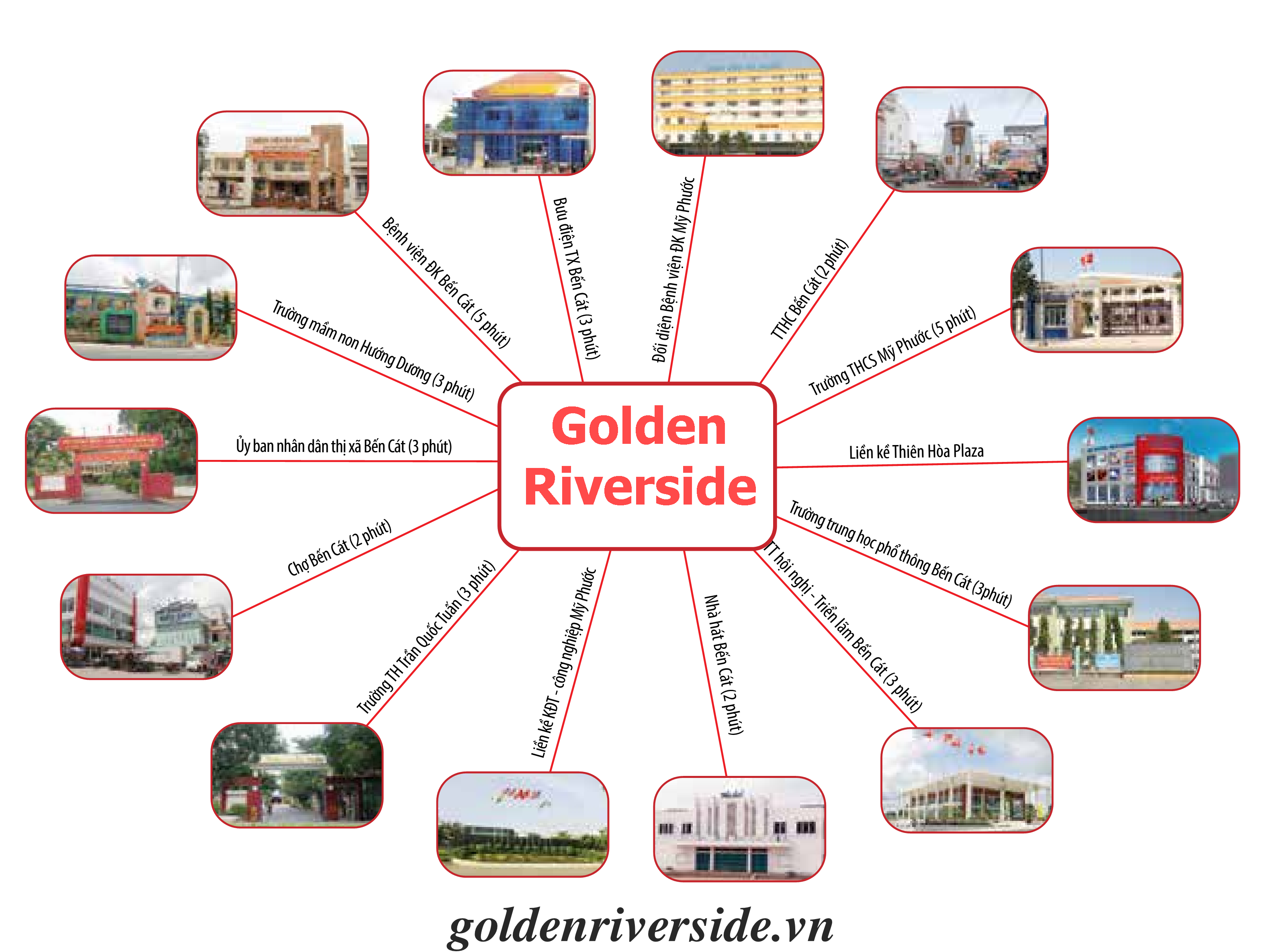 golden riverside